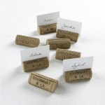 Wine Cork Place Cards Holder