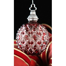 Ruby Ball Ornament