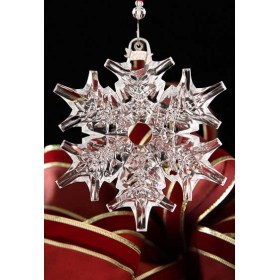 Crystal Snow Ornament