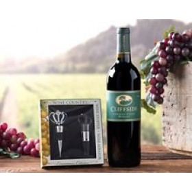 Cliffside Merlot Gift Set
