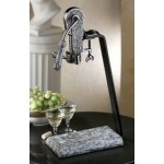 Antique Pewter White Wave (0851)
