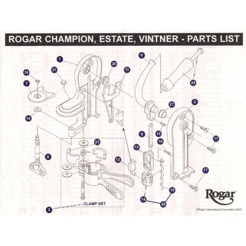 Rogar Parts