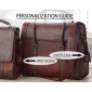 Leather Wine Bags Combo (Brown)