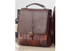 Leather Wine Bag Pack (Brown)