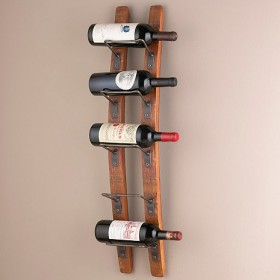 Barrel Wine Rack (5 Bottles)