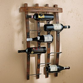 Barrel Wine Rack (9 Bottles)