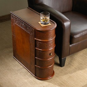 Wine Book Side Table