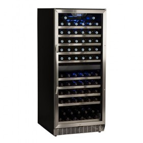 110 Bottles Built-In Dual Zone Cooler