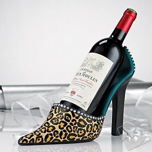 Leopard Wine Bottle Holder