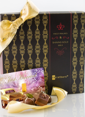 Karatbar Chocolate | Wedding - Bridal Gold Gift Cards